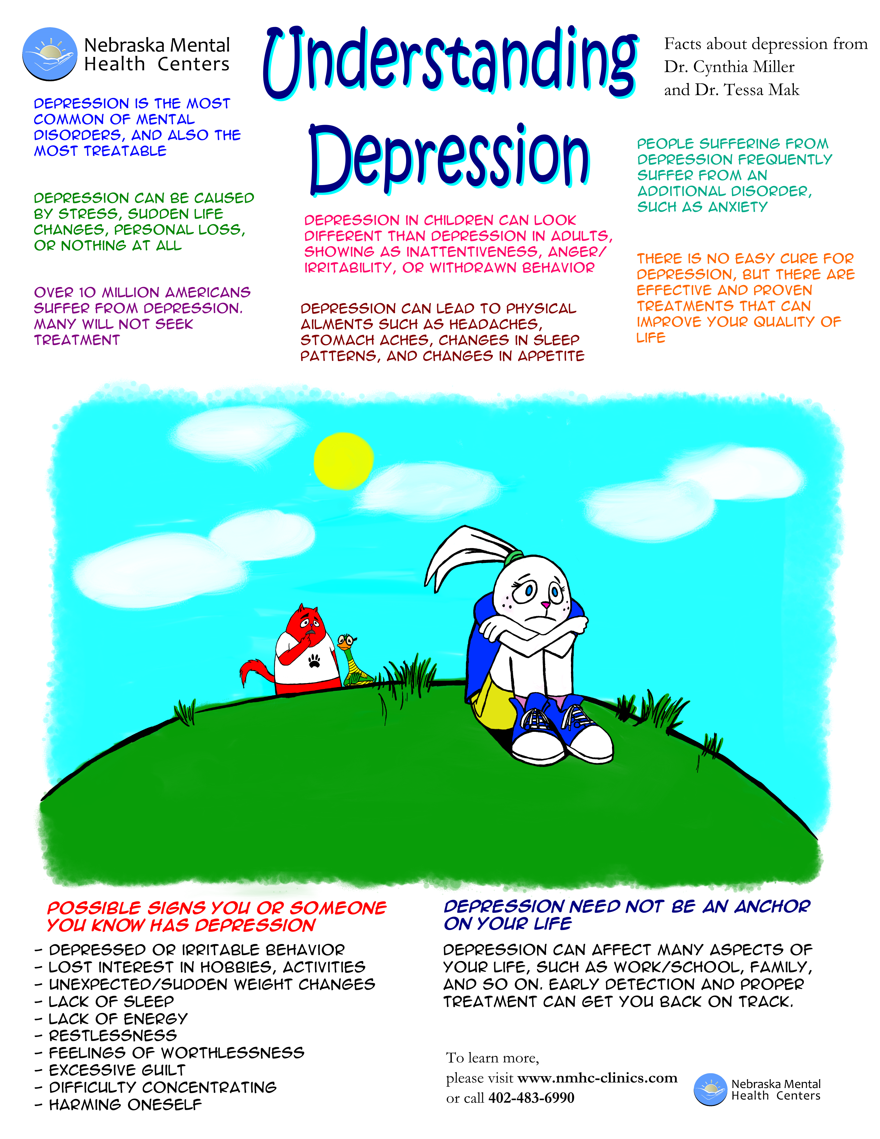 understanding clinical depression Addressing his fellow professionals in the mental health field, o'connor argues that the current state of understanding of the causes and treatments for depression are woefully inadequate and.